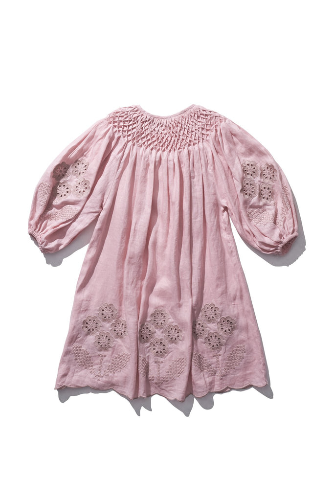 Mini Smock - Hans Ufmafrok in Candy floss
