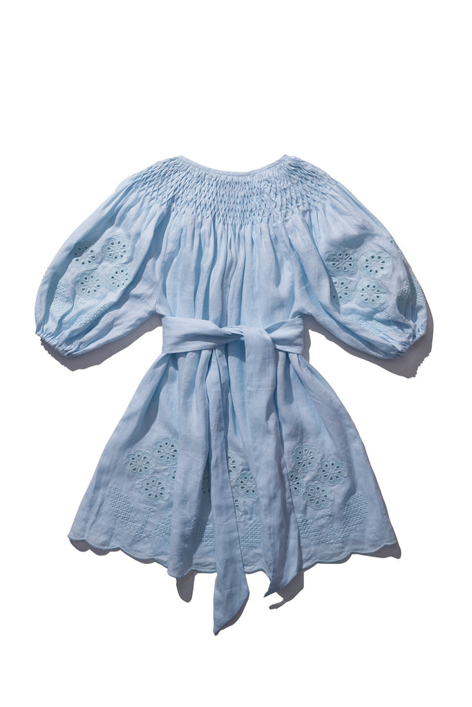 Mini Smock - Hans Ufmafrok in Sea Foam - Innika Choo