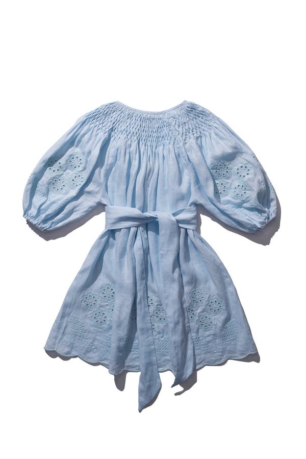 Mini Smock - Hans Ufmafrok in Sea Foam