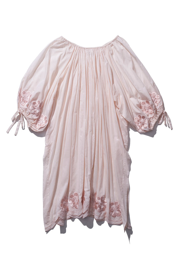 Pocket Smock Maxi - Frida Wailes in Blush