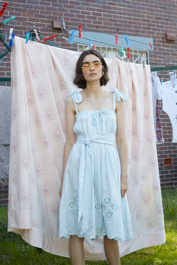 Long Skirt/Dress  - Nev Erontym in Sea Foam - Innika Choo