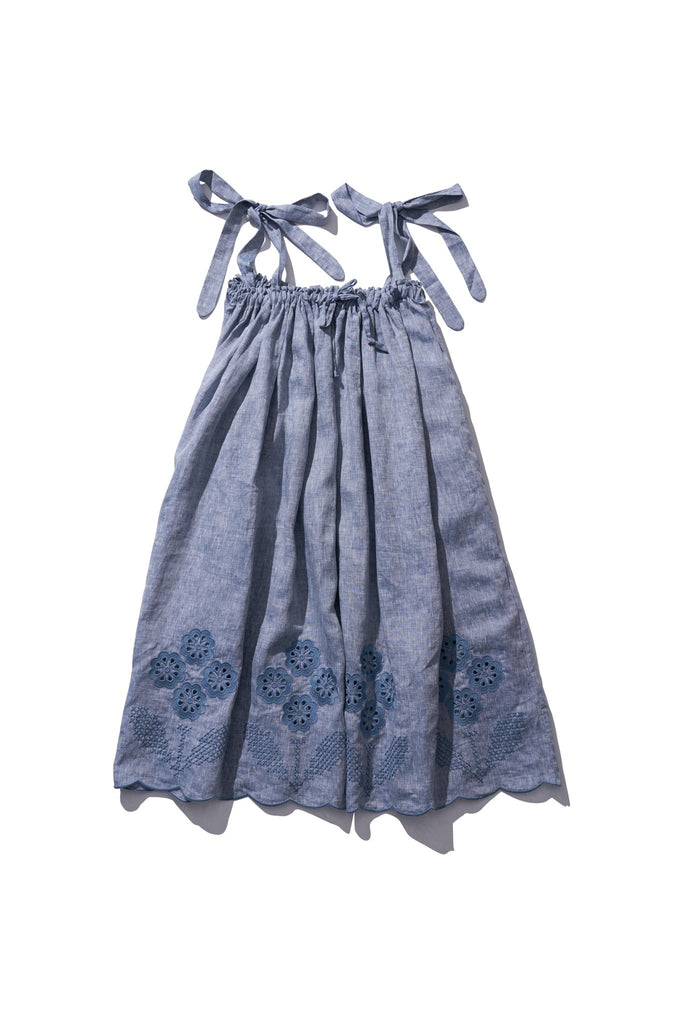 Long Skirt/Dress  - Nev Erontym in Grey Melange - Innika Choo