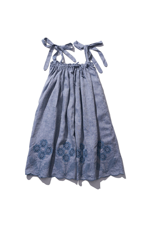 Long Skirt/Dress  - Nev Erontym in Grey Melange