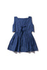 Scallop Ladylike Mini - Fonda Funn in Copen Blue - Innika Choo