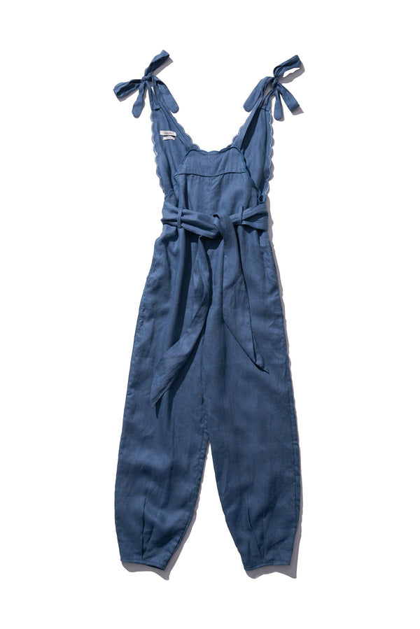 Dungaree - Fava Rutfrend in Graphite