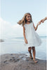 Kids Hand Smocked Sleeveless Dress - Cil Lee Little Stripe Linen