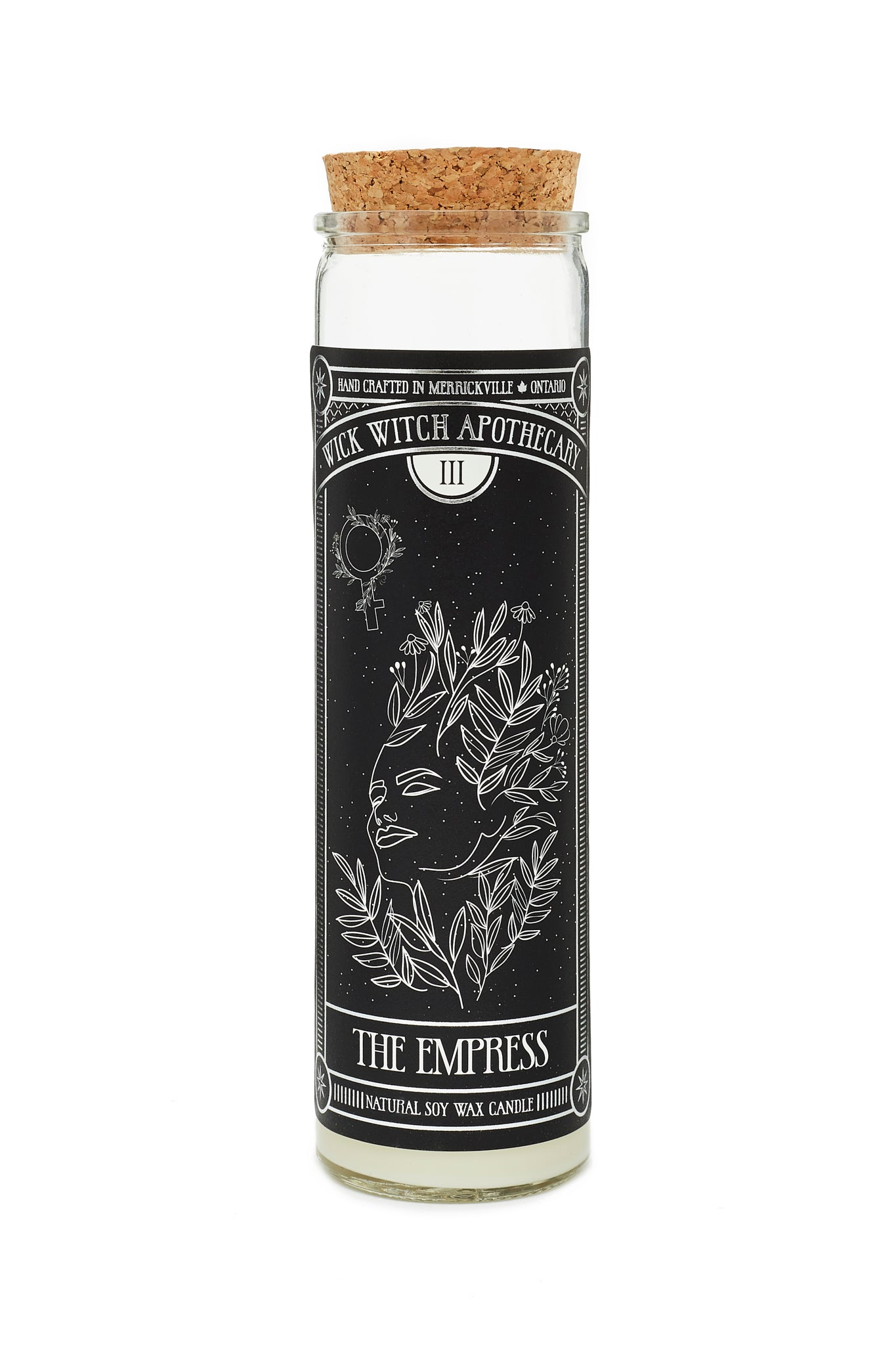 THE EMPRESS TAROT CANDLE