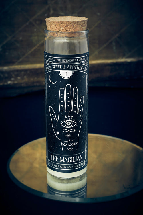 THE MAGICIAN TAROT CANDLE