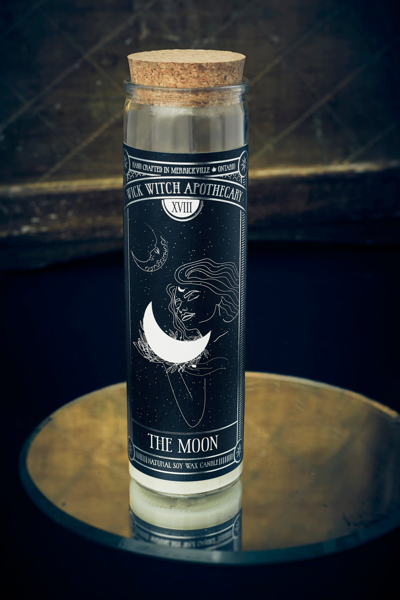 THE MOON TAROT CANDLE