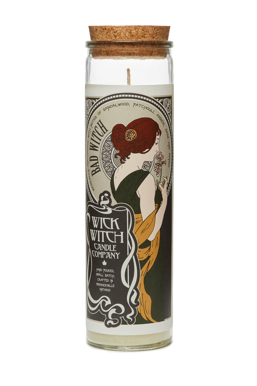 BAD WITCH PRAYER CANDLE