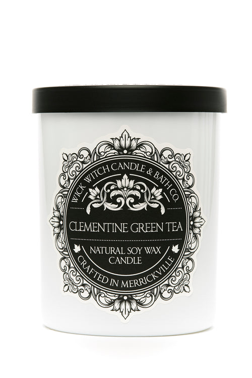 CLEMENTINE GREEN TEA SOY CANDLE
