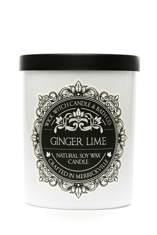 GINGER LIME SOY CANDLE