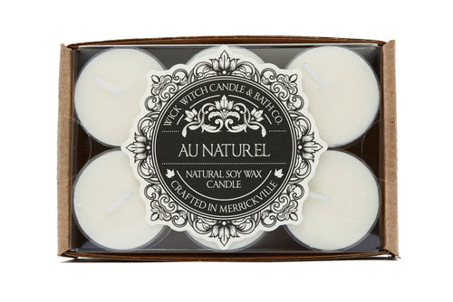 AU NATUREL 12PK TEALIGHT