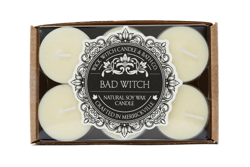 BAD WITCH 12PK TEALIGHT