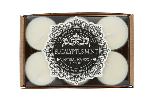 EUCALYPTUS MINT TEALIGHT 12PK