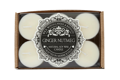 GINGER NUTMEG TEALIGHT 12PK