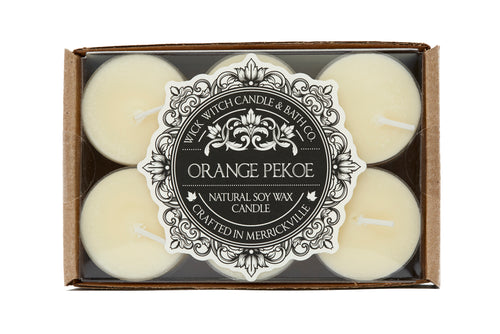 ORANGE PEKOE TEALIGHT 12PK