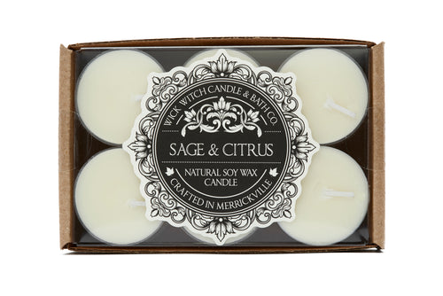 SAGE & CITRUS TEALIGHT 12PK