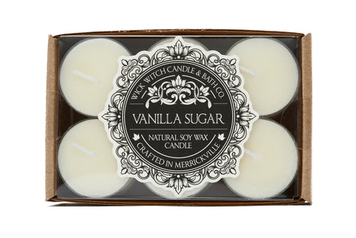VANILLA SUGAR TEALIGHT 12PK