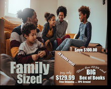 Big Box of Books - Family Sized - from Urban Spirit! Publishing and Media Company