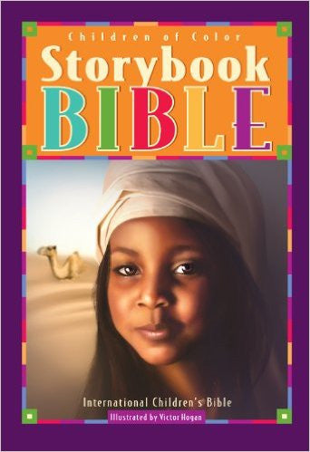Children of Color Storybook Bible (Girl w camel)