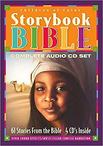 Children of Color Storybook Bible Complete Audio  4 CD Set (g)