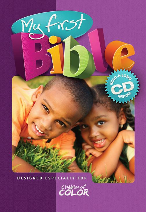 My First Bible for Children of Color with CD - Baby Bible for African American Children / Board book