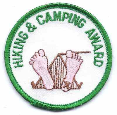 A-21 Hiking and Camping Award