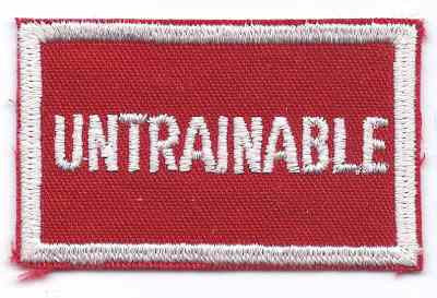 A-79 Untrainable - BenchmarkSpecialAwardsCo