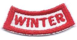 B-444 Winter Segment (limited stock, this patch will be discontinued) - BenchmarkSpecialAwardsCo