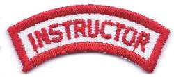 B-449 Instructor Shoulder Patch