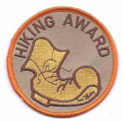 H-202 Hiking Award