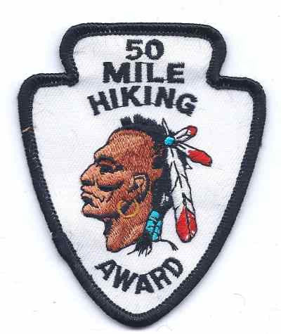 H-204 50 Mile Hiking Award - BenchmarkSpecialAwardsCo