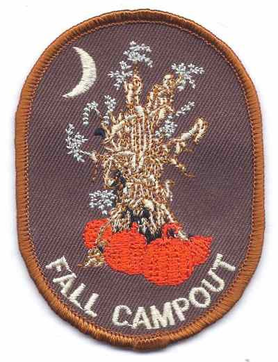 H232 Fall Campout - BenchmarkSpecialAwardsCo