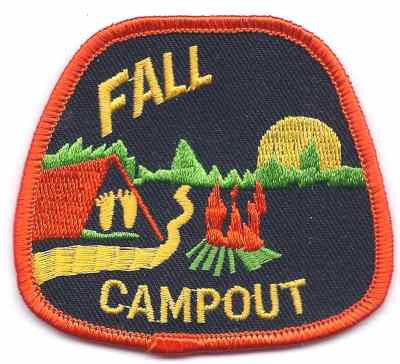 H-233 Fall Campout - BenchmarkSpecialAwardsCo