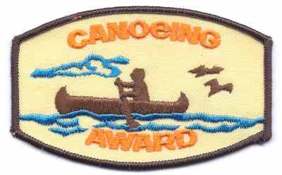 H-247 Canoeing Award
