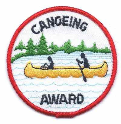 H-248 Canoeing Award - BenchmarkSpecialAwardsCo