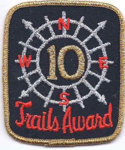 T-538 10 Trails Award