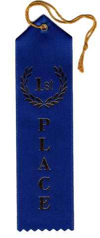 A-98 First Place Ribbon - BenchmarkSpecialAwardsCo