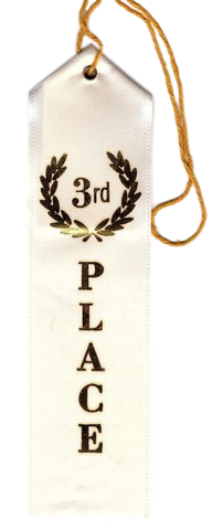A-100 Third Place Ribbon - BenchmarkSpecialAwardsCo