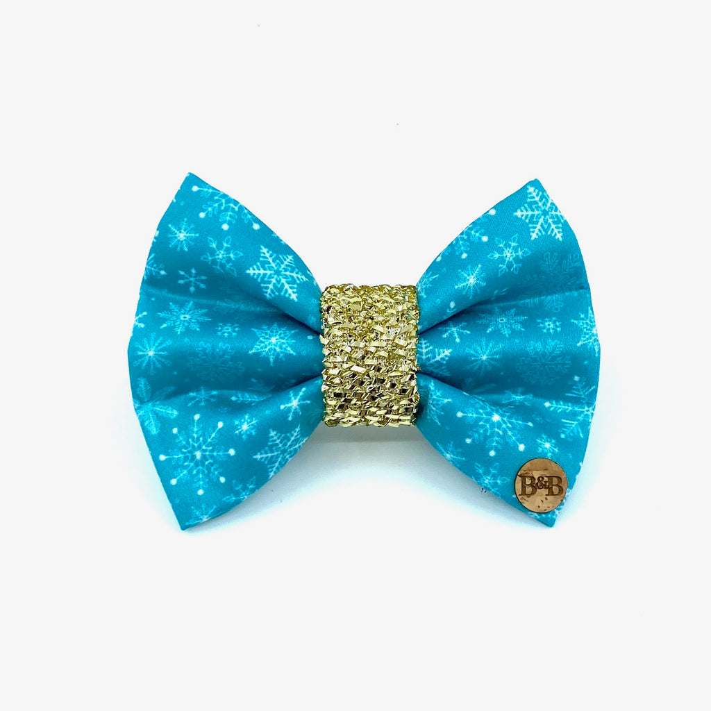 """Snowflake"" Bow Tie / Sailor Bow"