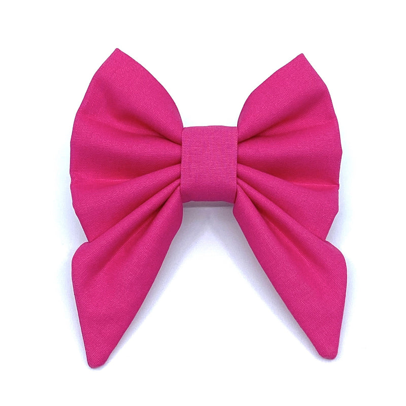 """Hot Pink"" Bow Tie / Sailor Bow"