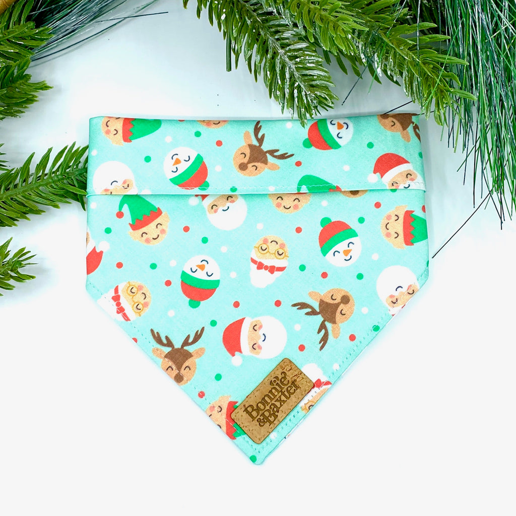 """Santa & Friends"" Bandana"
