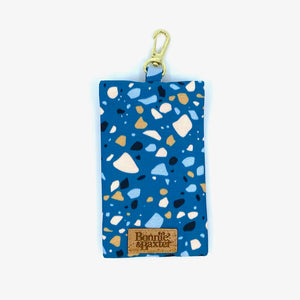 """Teal Terrazzo"" Waste Bag Holder"