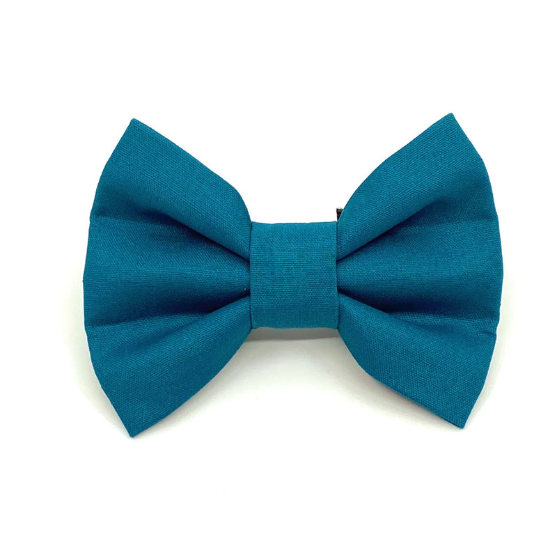 """Airforce Blue"" Bow Tie / Sailor Bow"