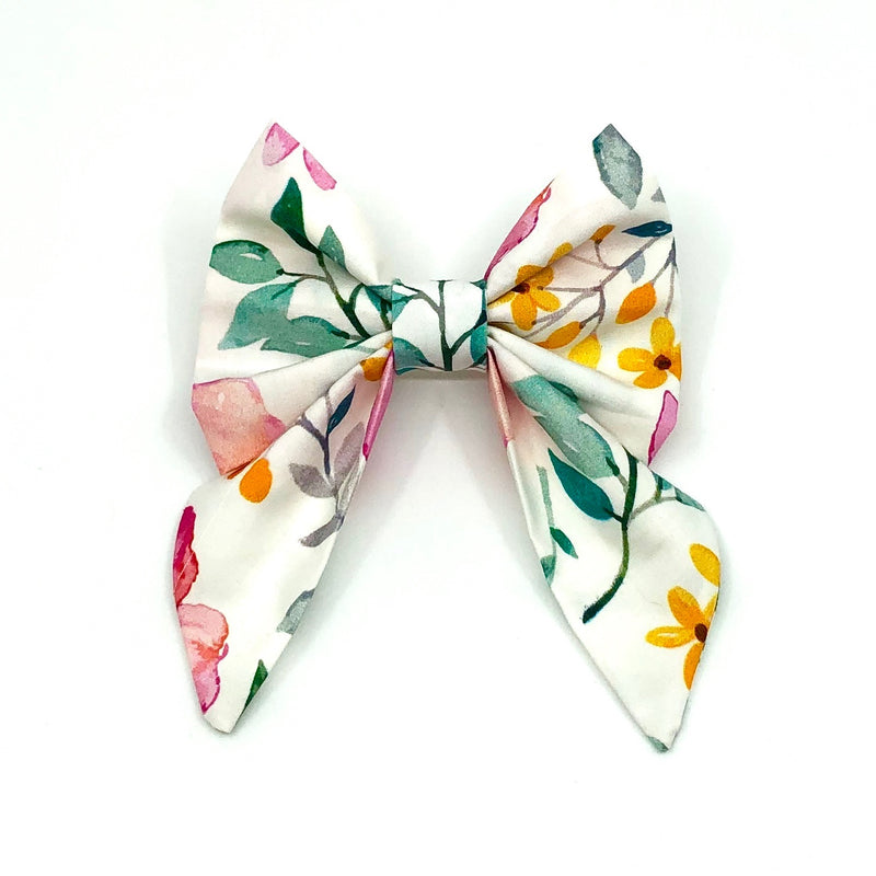 """Flora"" Bow Tie / Sailor Bow"