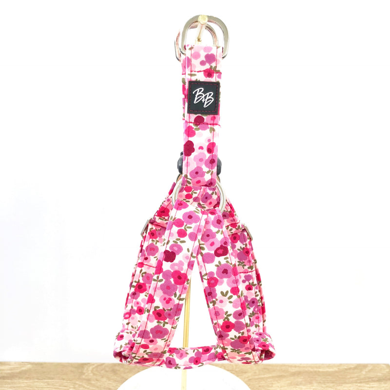"""Flower Splash"" Strap Harness"
