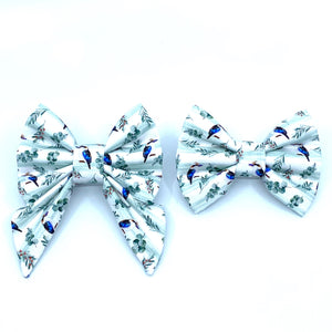 """Kookaburra Bow Tie / Sailor Bow"