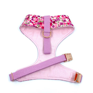 """Flower Splash"" Chest Harness"