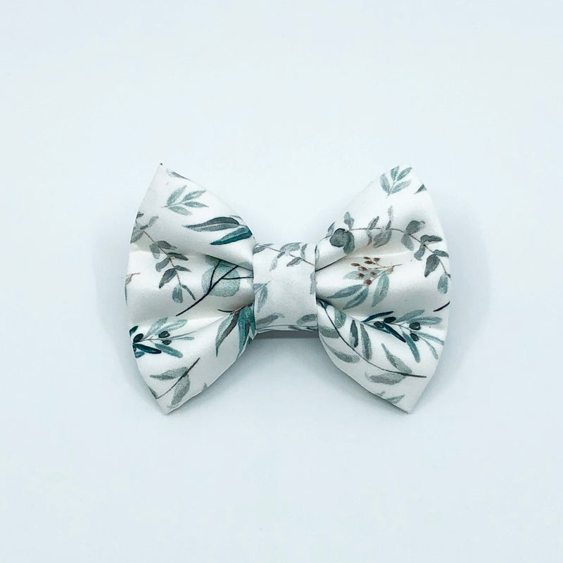 """Eucalyptus"" Bow Tie / Sailor Bow"